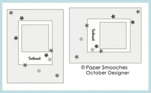 Paper Smooches SPARKS Challenge   October 14-20 2013 Designer Drafts challenge