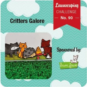 Lawnscaping Challenge No. 90 - Critters Galore
